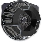 Black Deep Cut Inverted Series Air Cleaner Kit - 18-927