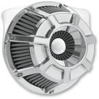 Chrome Bevelled Inverted Series Air Cleaner Kit - 18-934