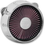 Chrome Gatlin Truflo Air Cleaner  - ACX-01C-14C