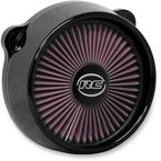Black Blitz Truflo Air Cleaner  - ACX-01B-04B