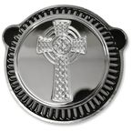 Chrome Celtic Cross Air Cleaner Kit - LA-2397-00