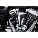 Chrome Cipher Air Cleaner w/Black Carbon Fiber Blades - 35103