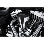 Black Cipher Air Cleaner w/Chrome Blades - 35104