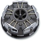 Black Radial Air Cleaner - 35153