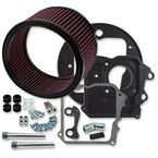 Black Air Cleaner Kit w/o Cover - 170-0227A