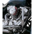 Chrome Bob Dish Stealth Air Cleaner Cover - 170-0119