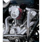 Chrome Bob Dome Stealth Air Cleaner Cover - 170-0120