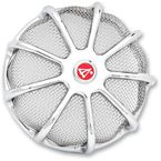 Chrome Wireframe Air Filter Cover - 50-100