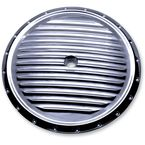 Chrome Dimpled Air Cleaner Insert - C0017-C