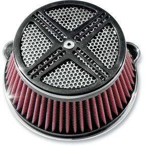 LA Choppers XXX Air Cleaner Assembly - LA-2390-00B
