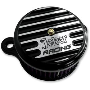 Joker Machine Black Anodized Joker Racing Air Cleaner Assembly - 10-205B