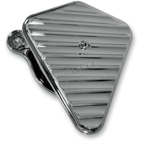 Joker Machine Chrome Finned High Performance Diamond Air Cleaner Assembly - 02-145C