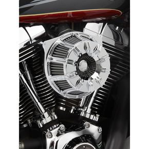 Chrome Inverted Series 10-Gauge Air Cleaner Kit - 18-940