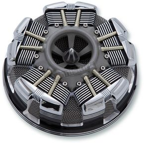 Ciro Black Radial Air Cleaner - 35153