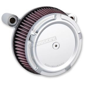 Chrome Big Sucker Stage 1 Air Filter Kit w/ Beveled Cover - 50-846