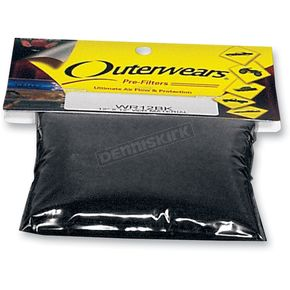 Outerwears 12 in. x 12 in. Pre-Filter Sheets - WR12BK
