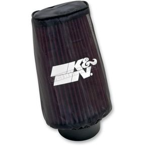 K & N Universal Snowcharger w/2-7/16 in. Mounting Flange - 3-1/4 in. x 4 in. Filter Base x 3-1/2 x 2-1/2 in. Top x 7 in. Long - SN-2560DK