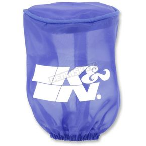 Blue Round Straight Drycharger Air Filter Wrap - RU-1280DB