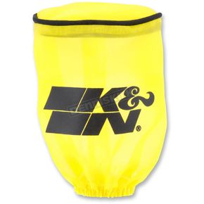 K & N Yellow Round Straight Drycharger Air Filter Wrap  - RU-1280DY