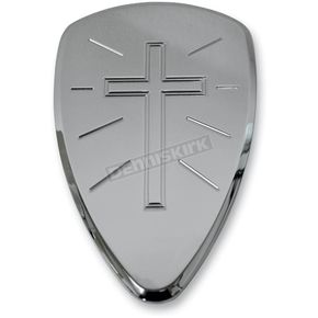 Baron Custom Accessories Cross Big Air Cleaner Cover - RE-2800-90