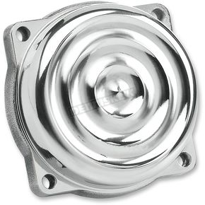 Biltwell Polished Aluminum Ripple CV Carb Top Cover - CT-RIP-AL-PS