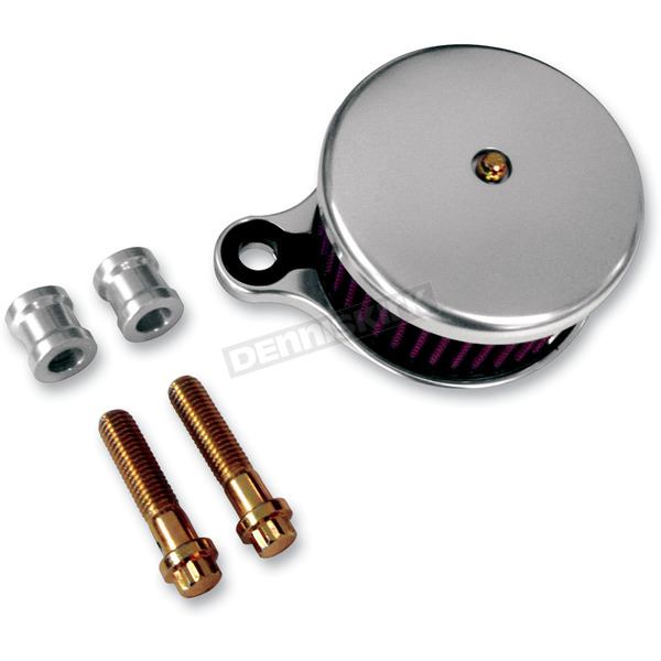 Joker Machine Clear Anodized Air Cleaner Assembly - 10-201S