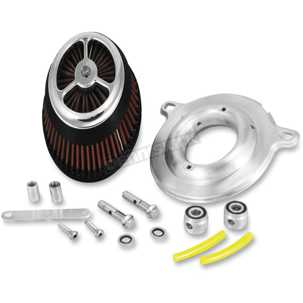 Alloy Art Chrome Moto Intake Kit - MI2-1