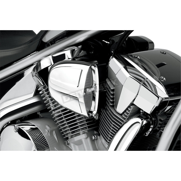 Cobra Chrome Powrflo Air Intake - 06-0133