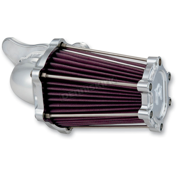 Performance Machine Chrome Fast Air Intake Solution - 0206-2049-CH
