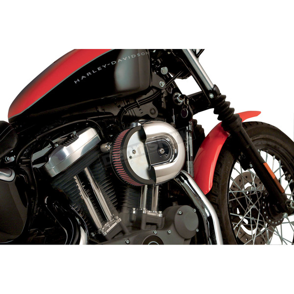 Arlen Ness Natural Big Sucker Stage I Performance Air Cleaner Kit - 18-824