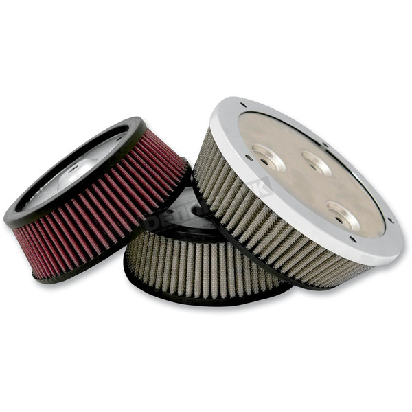 Arlen Ness Red Derby Sucker Air Filter for Screamin Eagle® Backing Plates - 18-312