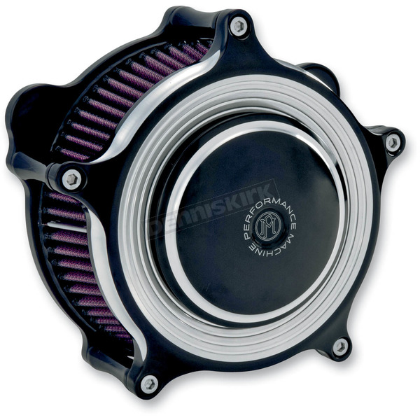 Performance Machine Contrast Cut Super Gas Merc Air Cleaner - 0206-2065-BM