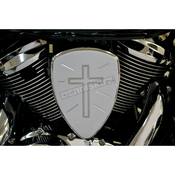 Baron Custom Accessories Chrome Cross Big Air Kit - BA-2074-90