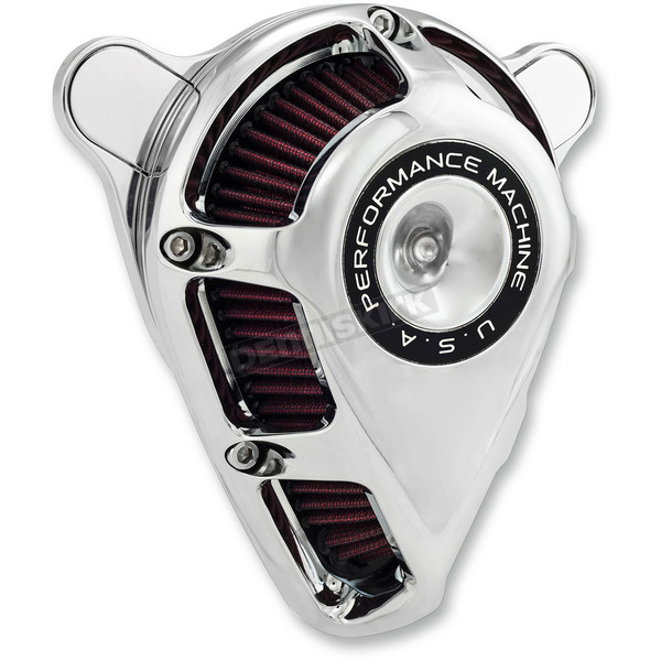 Performance Machine Chrome Jet Air Cleaner - 0206-2112-CH