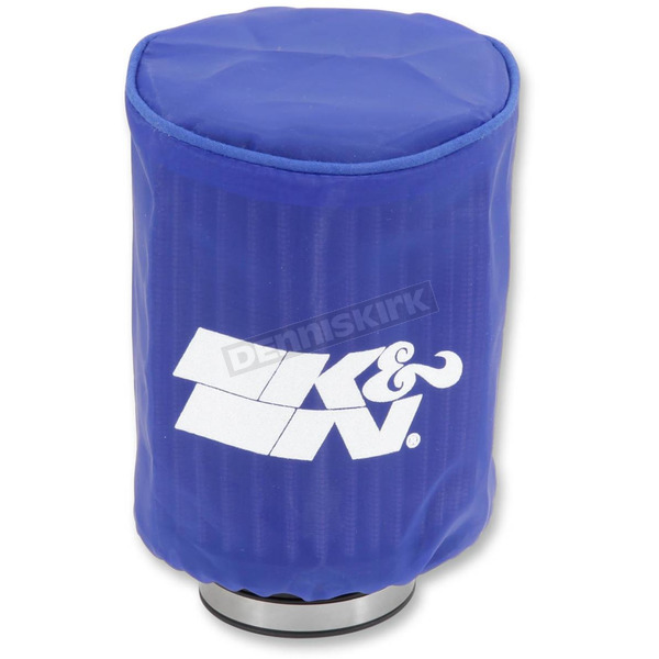 K & N Blue Round Straight Drycharger Air Filter Wrap  - RA-0510DB
