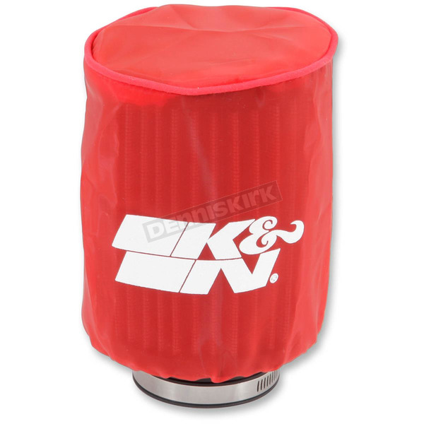 K & N Red Round Straight Drycharger Air Filter Wrap  - RA-0510DR