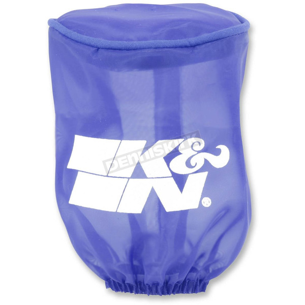 K & N Blue Round Straight Drycharger Air Filter Wrap  - RU-1280DB