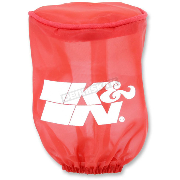 K & N Red Round Straight Drycharger Air Filter Wrap  - RU-1280DR