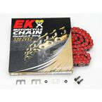 Super Sport Series 530 ZVX Sealed Red Chain - 530ZVX2150R