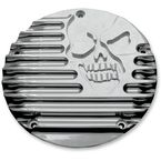 Chrome Machine Head Derby Cover - C1074-C