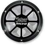 Joker Racing Black Anodized Derby Covers - 10-692B