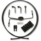 Black Pearl Designer Series Build Your Own Braided Hydraulic Clutch Line Kit with 7 foot Clutch Line - 491300A