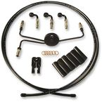 Black Pearl Designer Series Build Your Own Braided Hydraulic Clutch Line Kit with 7 foot Clutch Line - 491390A