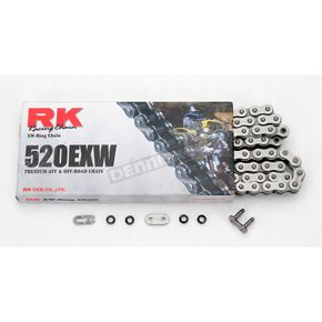 RK 520EXW Heavy-Duty Non-Sealed Chain - 520EXW-110