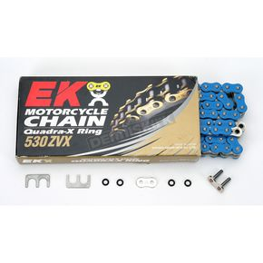 EK Super Sport Series 530 ZVX Sealed Blue Chain - 530ZVX2120B