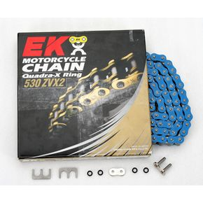 RK Super Sport Series 530 ZVX Sealed Blue Chain - 530ZVX2-150/B