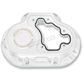 Roland Sands Design Chrome Clarity 6-Speed Transmisson Side Cover - 0177-2022-CH