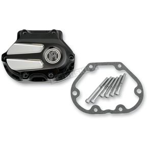 Performance Machine Platinum Cut Scallop Transmission Cover - 0066-2024-BMP