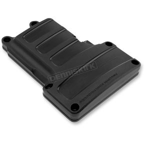 Performance Machine Black Ops Scallop Design Transmission Top Cover - 0203-2006-SMB