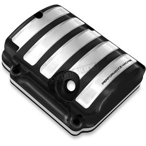 Performance Machine Platinum Cut Drive Style Transmission Top Cover - 0203-2015-BMP